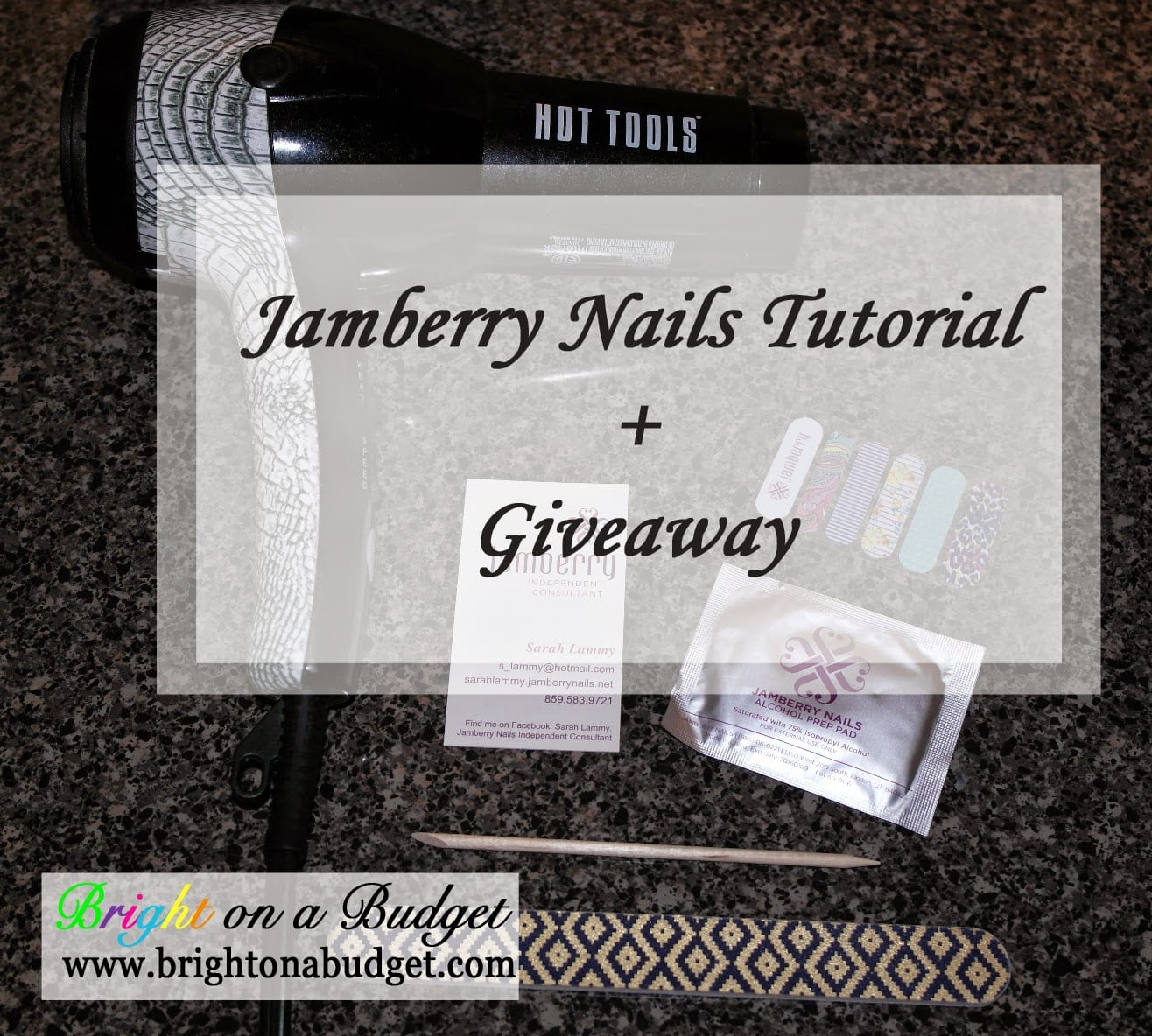 Jamberry Nails [+ a Giveaway!] | Bright on a Budget