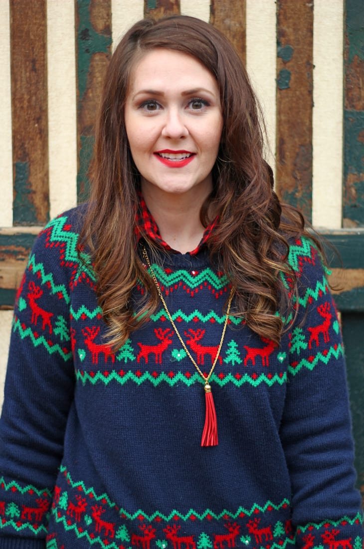 How I Style It: Not-So-Ugly Christmas Sweater | Bright on a Budget
