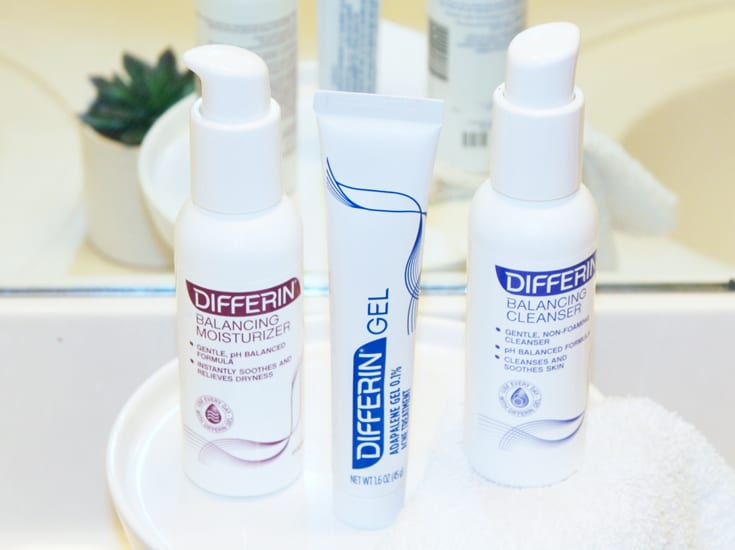 differin gel before acne treatment