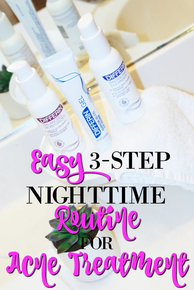 differin at walmart easy nighttime routine for acne treatment