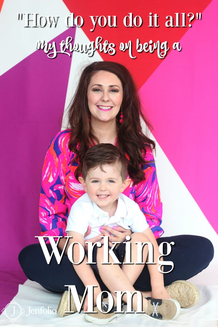 my thoughts on being a working mom