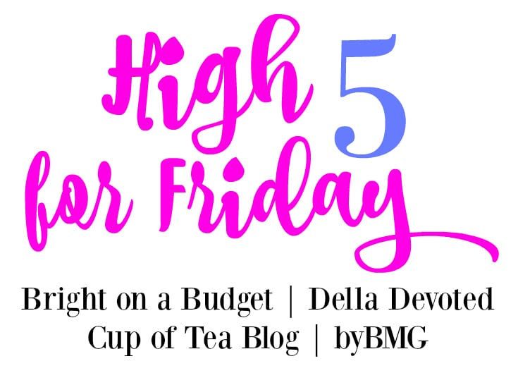 high five for friday favorites linkup