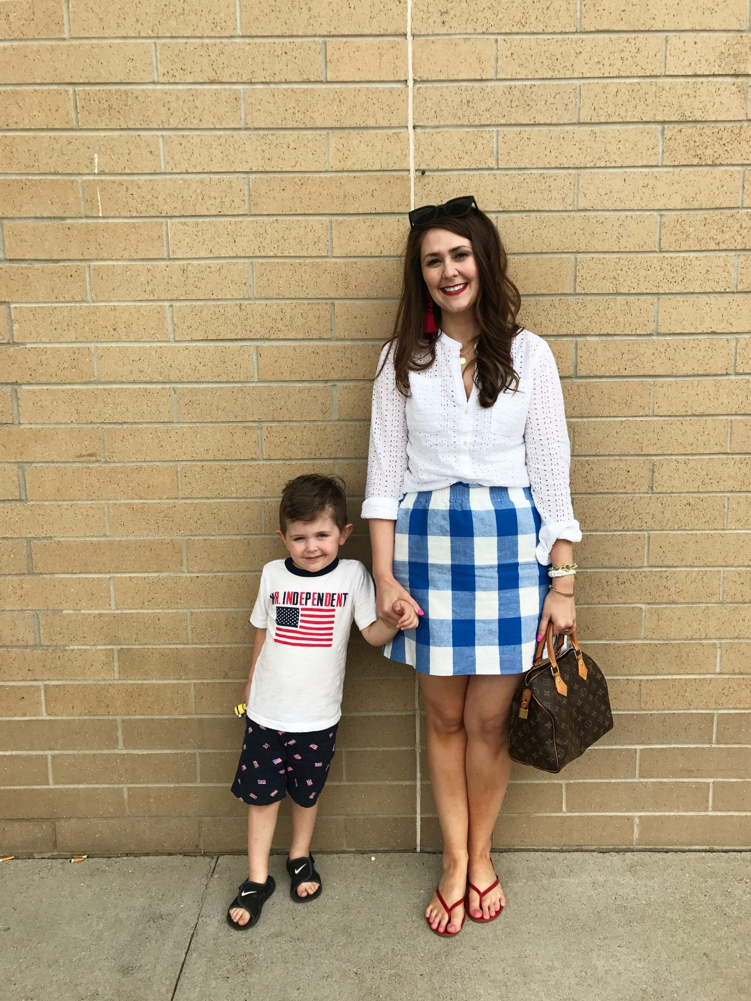 4th of July Mother and Son Outfits