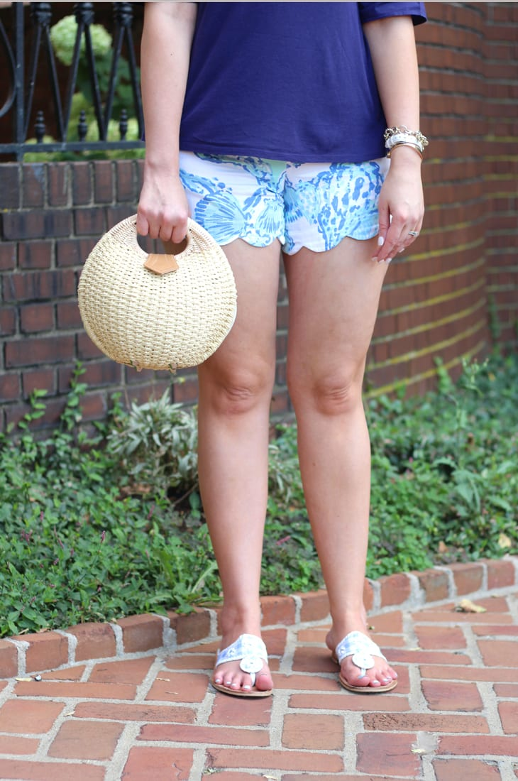 Ruffles, scallops, and the Lilly Pulitzer After Party Sale August 2017