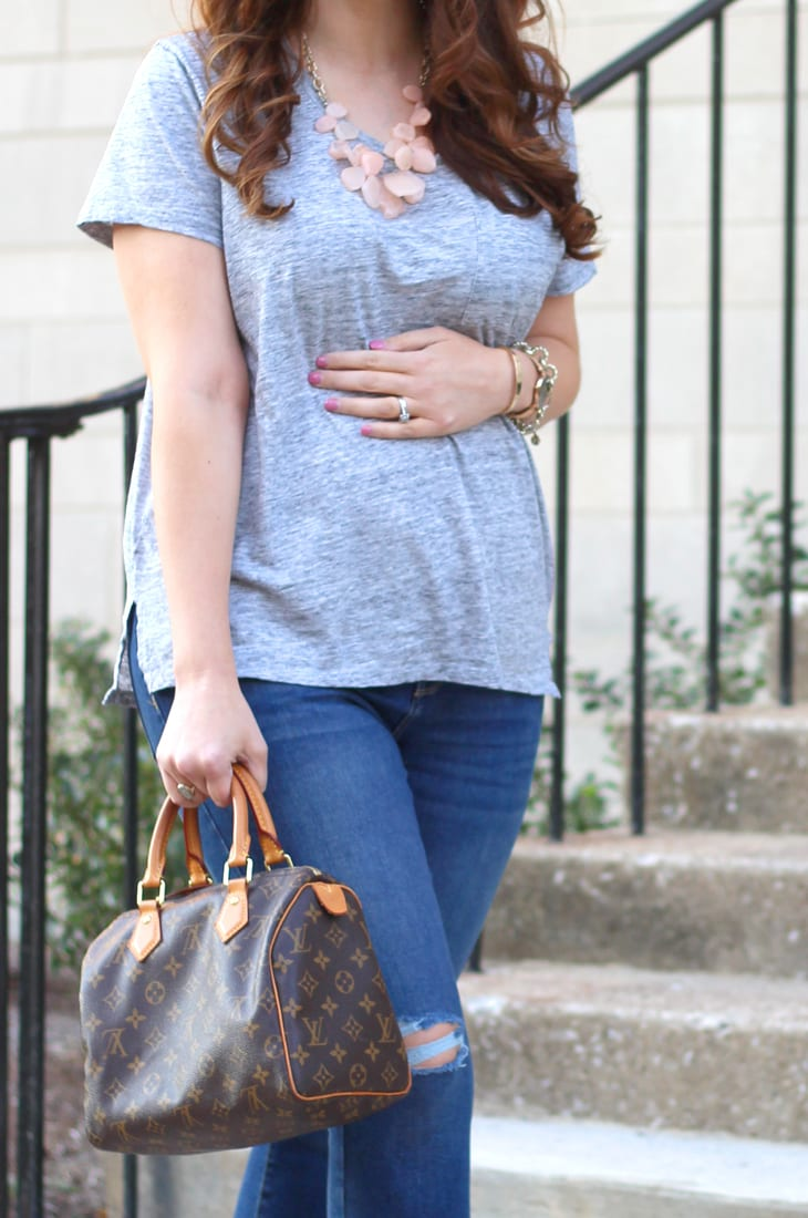 Casual look for fall (works for maternity!)