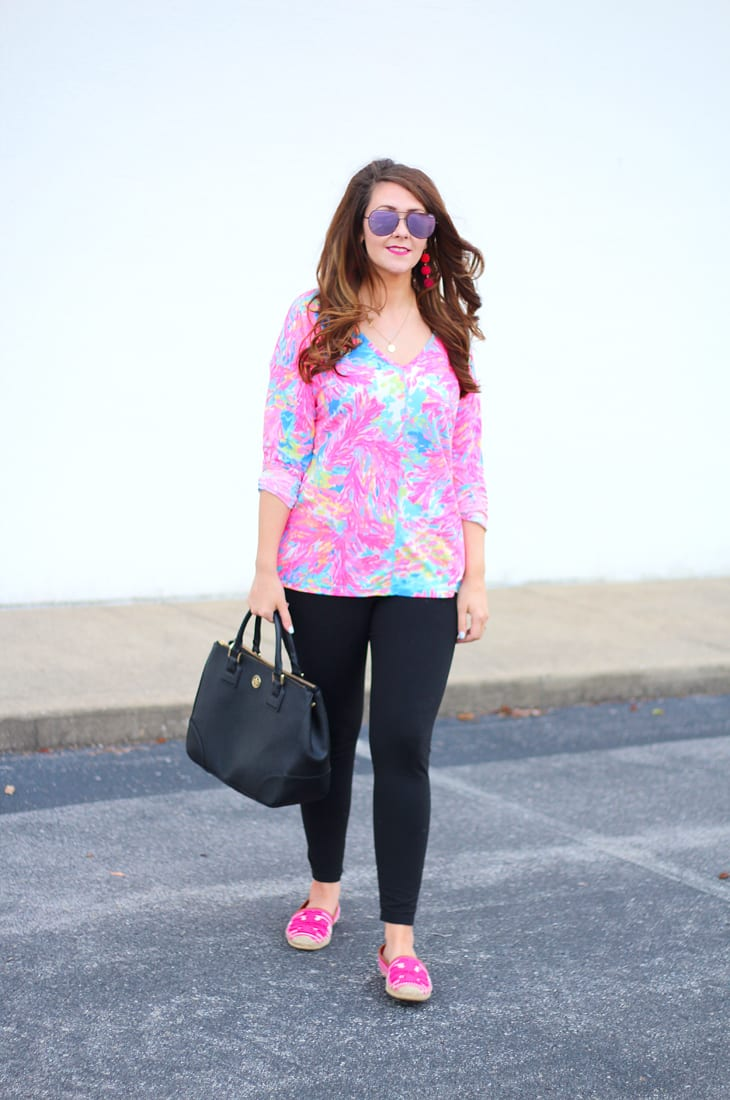 Lilly Pulitzer Luxletic Athleisure Top