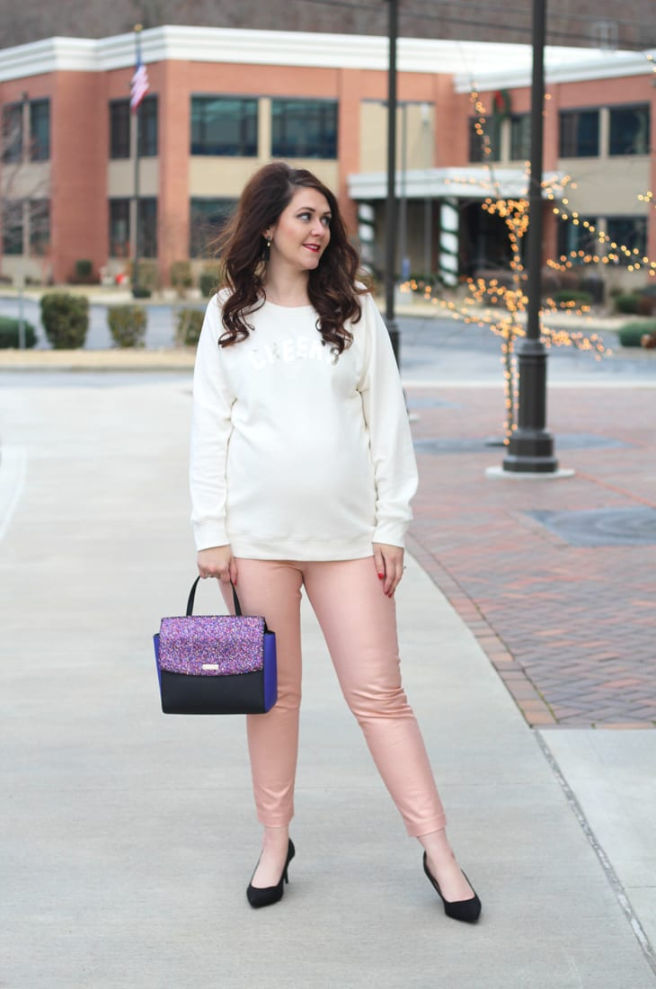 cozy and sparkly new year's eve outfit 10