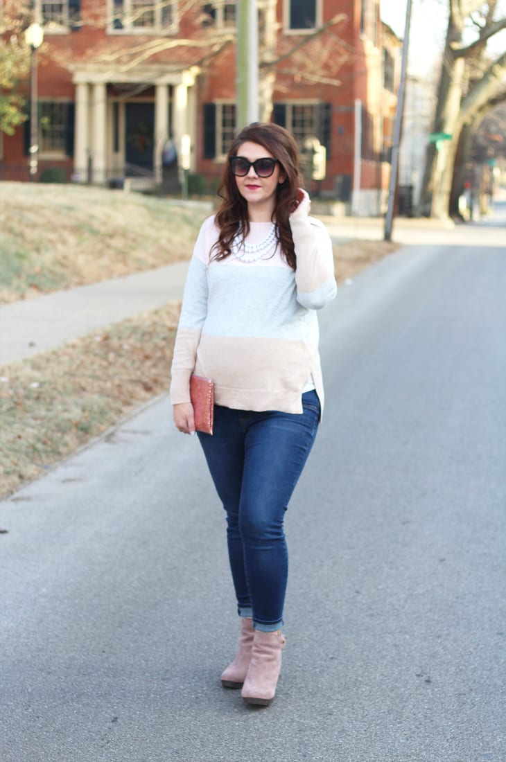 Neapolitan Sweater Bright On A Budget