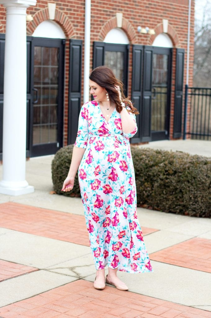 What To Wear To A Baby Shower Bright On A Budget