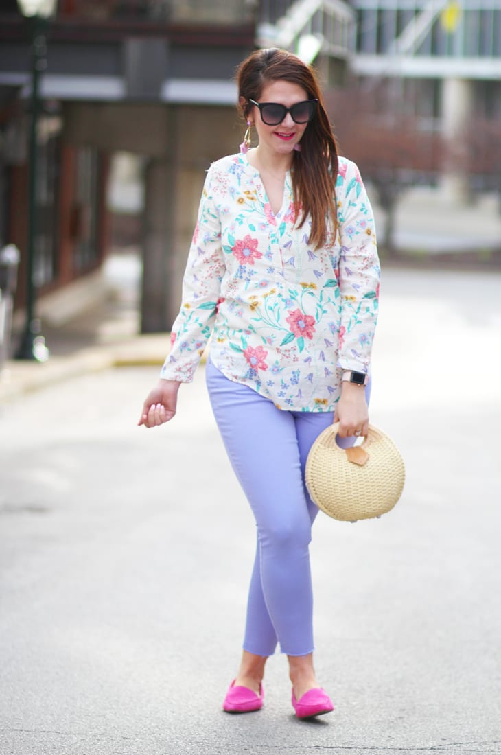 lavender, lilac, and florals for spring