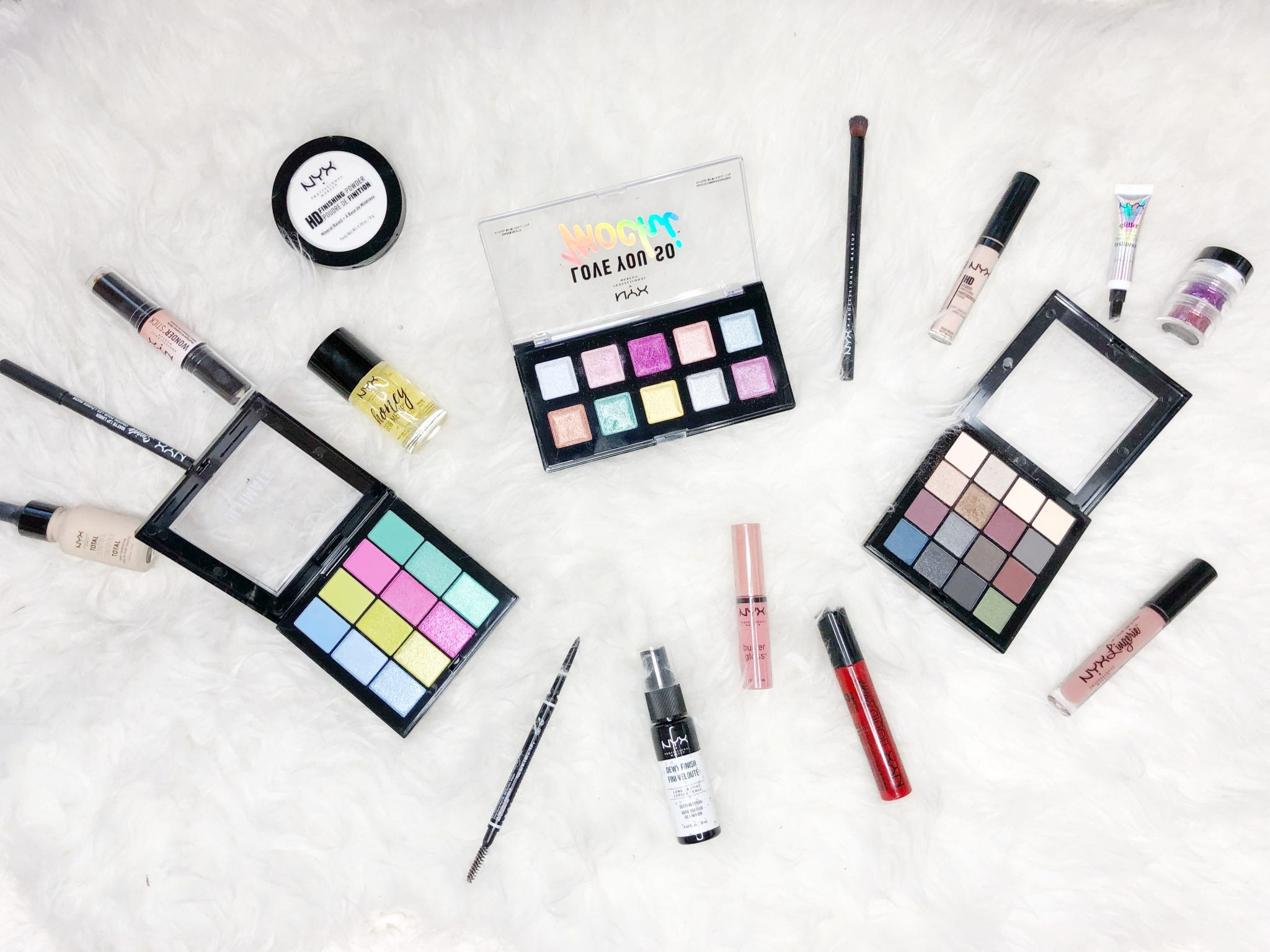 NYX Makeup Haul and review