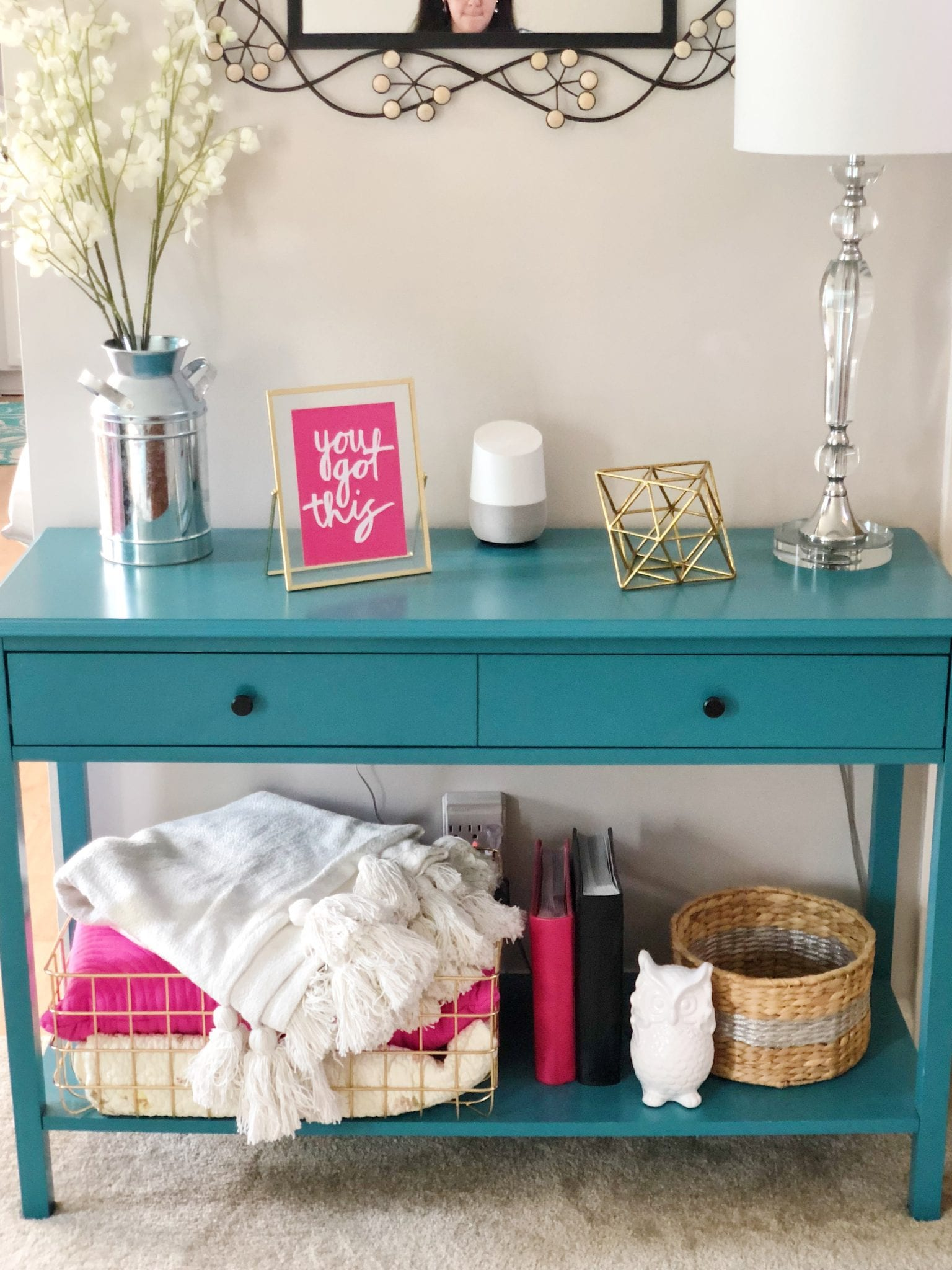 Living Room Refresh for $150 | Bright on a Budget