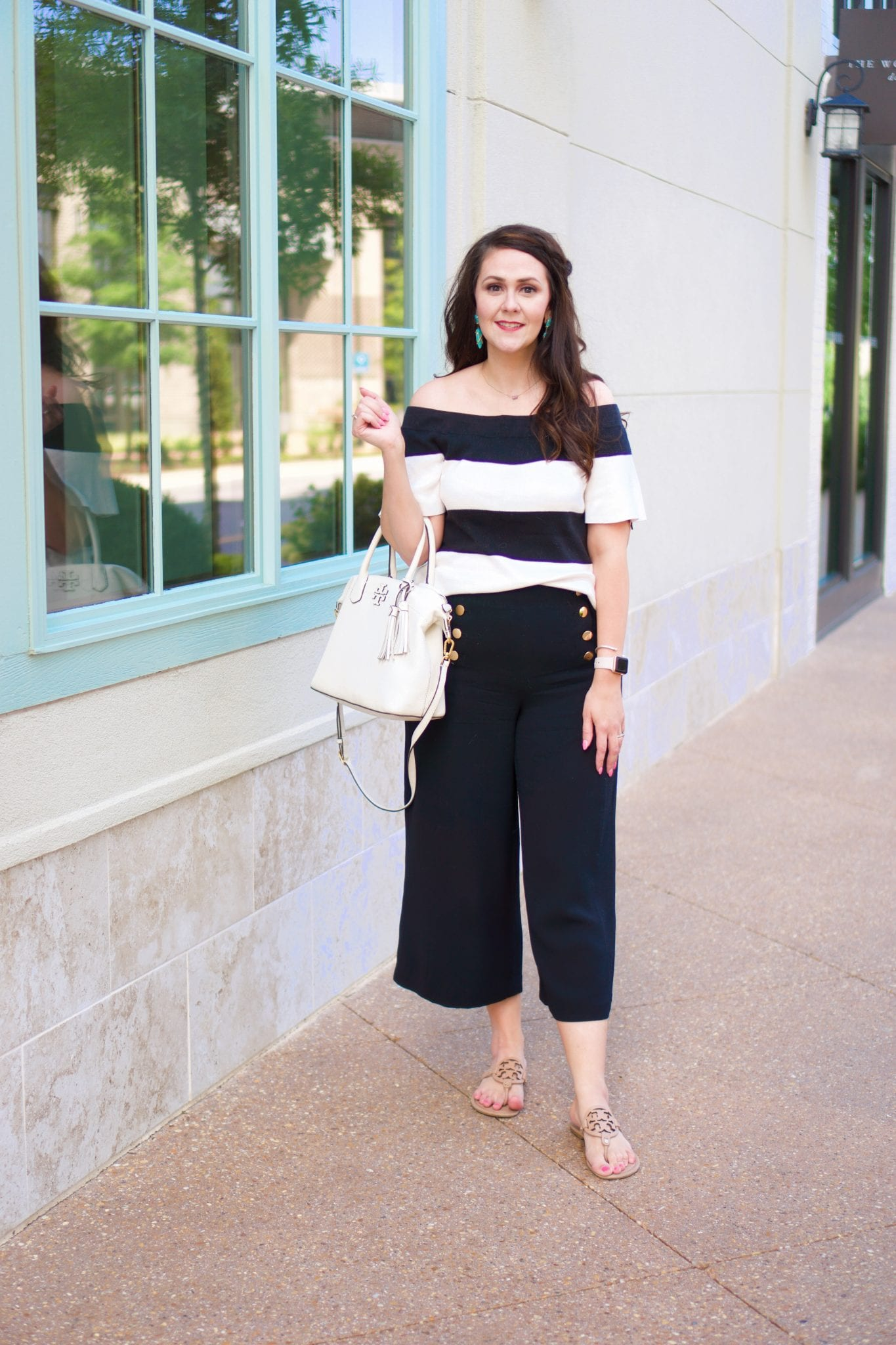 Trend alert: wide leg cropped pants for summer/fall