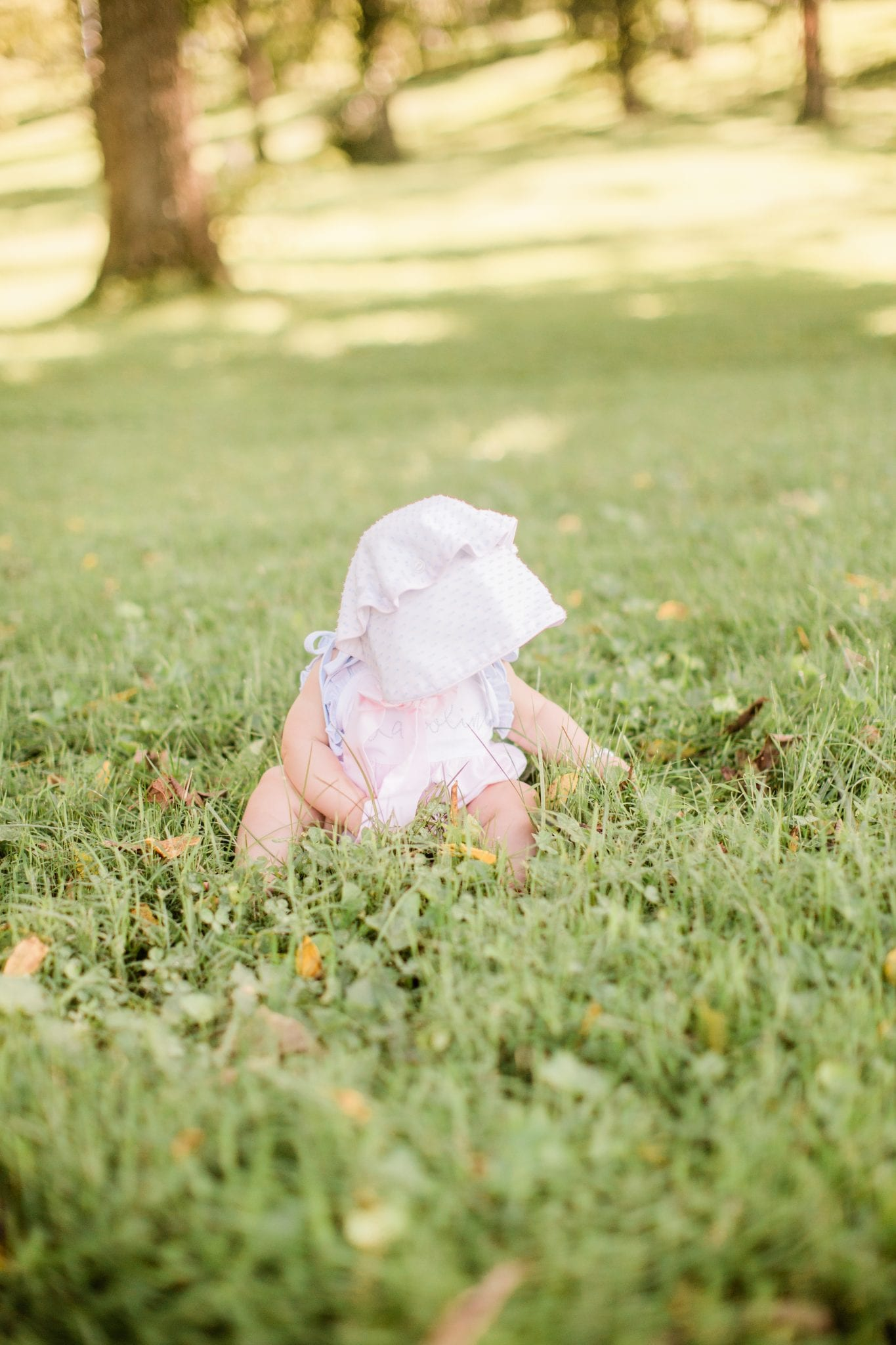 Our Family of Four at 6 Months: Karoline's 6 month baby pictures